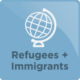 An icon for the Volunteer Immigration services category.